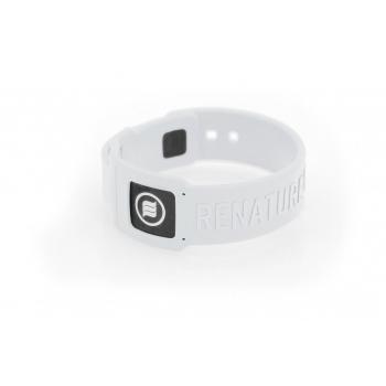 Bracelet anti onde électromagnétique - blanc taille M / L