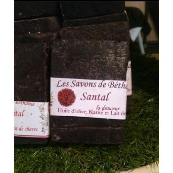 Savon Bois de santal environ 110g