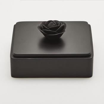 boîte à bijoux black rose