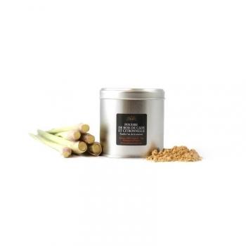 Poudre de Bois de Cade Naturelle - Parfum Citronnelle