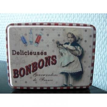 Boîte Voyage Rétro Bonbons