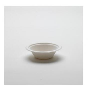 Bol blanc en canne à sucre - 200 ml -