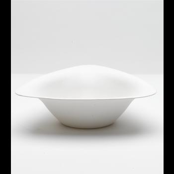 50 bols blancs en canne à sucre gamme Trigon - 600 ml -