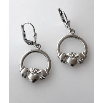 Boucles d'oreilles Berbèro/Celtique argent massif