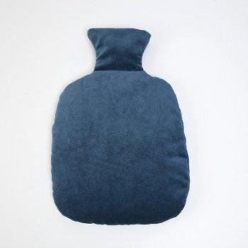Bouillotte Classique Bleue