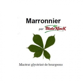 Macerat De Bourgeons Marronnier