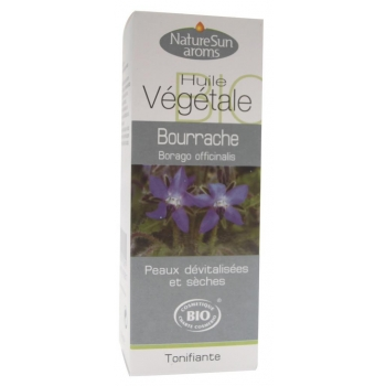 Bourrache vierge. borago officinali HV - 50 ml