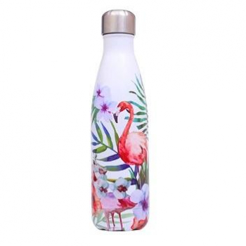 Bouteille inox flamants roses