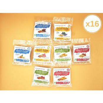 Pack Découverte de 2 sachets x 8 saveurs - BIO – 16 sachets