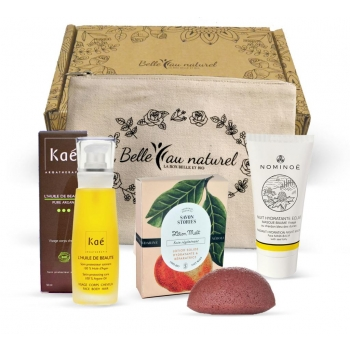 Cadeau Box Beauté Belle au Naturel - 1 mois (bon valable 1 an)