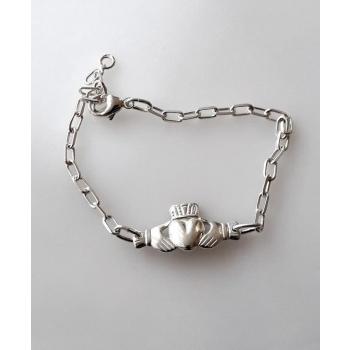 Bracelet chaîne Berbéro/Celtique argent massif