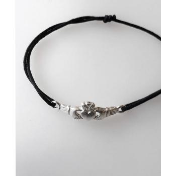 Bracelet cordon Berbéro/Celtique argent massif