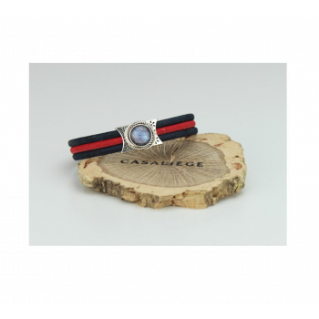 Bracelet Pastille / 3 fils - Vue de face