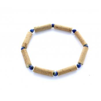 Bracelet de noisetier | Lapis lazuli | Hématite