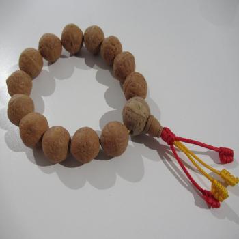 Bracelet mala Népalais en graine de bodhi
