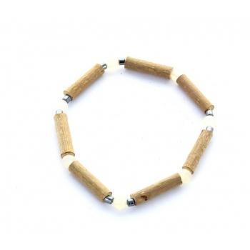 Bracelet de Noisetier | Aventurine jaune | Hématite | Modèle 1 | 14cm