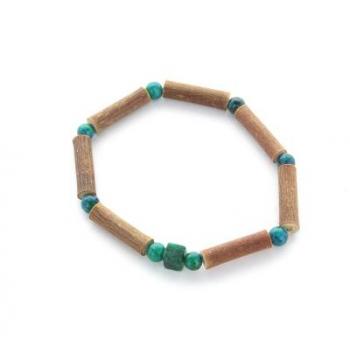 Bracelet de Noisetier | Chrysocolle | Modèle 1 | 14cm