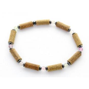 Bracelet de Noisetier | Fluorite | Hématite | Modèle 1 | 18cm