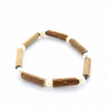 Bracelet Noisetier 15 cm perle d'eau douce