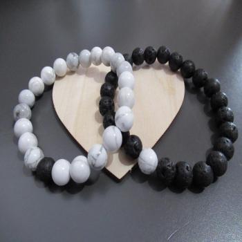 Duo de bracelets de distance pour couples