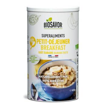 Mix Petit-déjeuner Bio - Saveur Banane