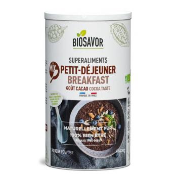 Mix Petit-déjeuner Bio - Saveur Cacao