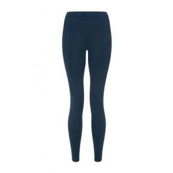 Legging en coton bio bleu canard
