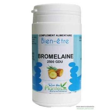 Bromélaine 2500 GDU 120 gélules