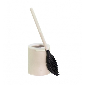 'bbb La Brosse' brosse WC avec support - Made in France - Beige perle