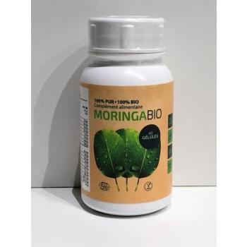 Boîte 60 gélules Moringa BIO certifiée Ecocert  pure et traçable,moins de 10 Euros