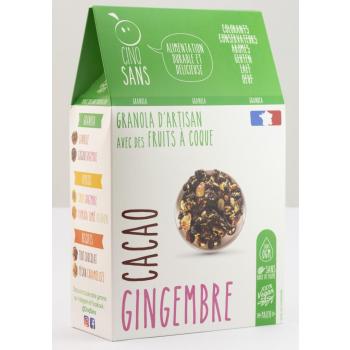 paquet cacao gingembre