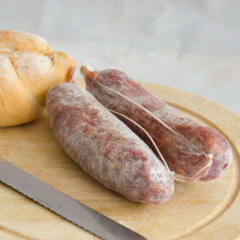 petit saucisson a la truffe bio. expédié directement d'Italie - 200gr.