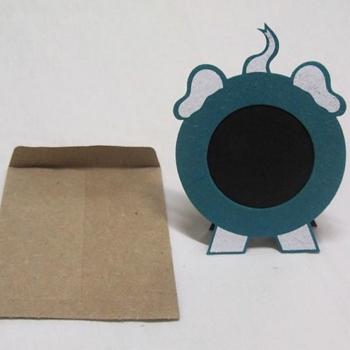 cadre Photo ELEFANTastic magneETIC - turquoise
