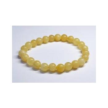 Bracelet calcite orange