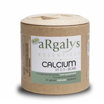 aRgalys Essentiels Calcium D3 Bore 60 gélules