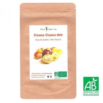 Vitamine C Naturelle 20% - Extrait de Camu Camu Biologique - Sachet 50 gr
