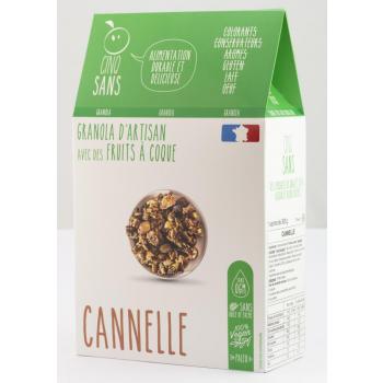 paquet granola cannelle