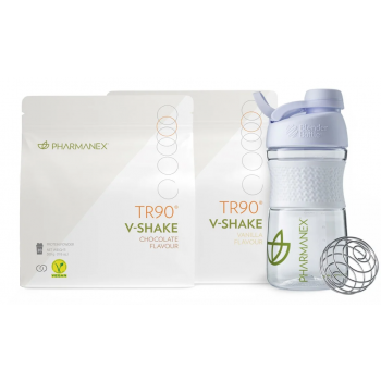Nu skin Kit de démarrage régime 1KG vegan V-Shake TR90 Protéiné Vegan 2X500GR