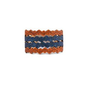 bracelet bleu jeans