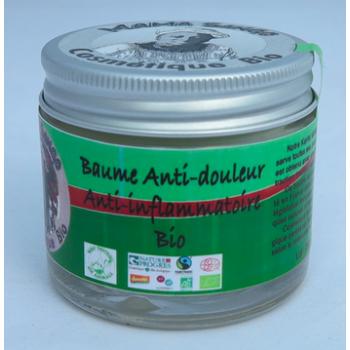 Baume crémeux BIO Anti-douleur/Anti-inflammatoire au Vrai Karité 60 ml