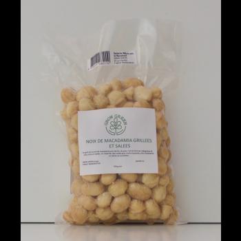 Noix de Macadamia, 500 grammes, salées, grillées