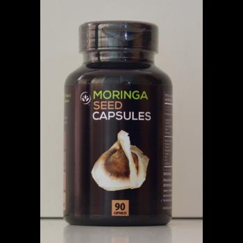 90 gélules de graines de Moringa, booster de libido naturel