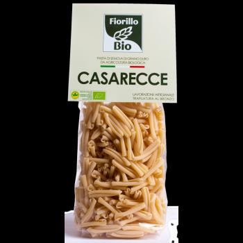 TERRE DE CALABRE - Casarecce  pâtes artisanales bio de blé dur italien 500 g