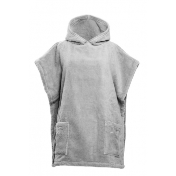 LUIN LIVING - Casual Poncho (XS-M) PEARL GREY