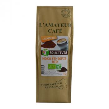 Café Bio moulu - Moka Ethiopie - 250 g
