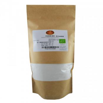 Farine de Riz Blanc Bio - 500 g