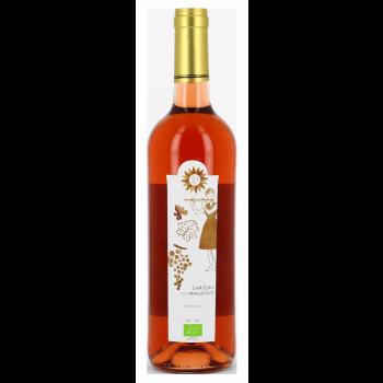 Château Les Miaudoux - 100% Cabernet Sauvignon - Bergerac Rosé - 2016