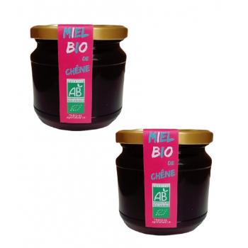 2 Pièces Miel Bio de Chêne Le Monopati 0,5kg/pièce