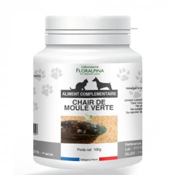 Chaire-de-moule-verte-pour-chien-et-chat-en-poudre-100-g