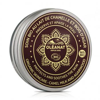 Soin au lait de chamelle biologique et bois d'agar - Oléanat - 50 ml